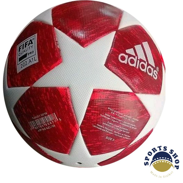 ADIDAS UEFA CHAMPIONS LEAGUE 2018-19 SOCCER MATCH BALL RED COLOUR SIZE 5 Free Shipping