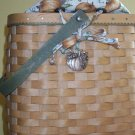 Retired Longaberger 2003 Autumn Tote Pumpkin Patch Set