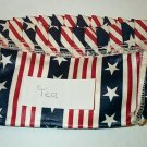 Retired Longaberger All American Tea Basket Liner