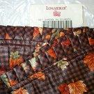 Retired Longaberger 1997 Shades Of Autumn Liner