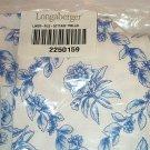 Retired Longaberger Cottage Trellis File Basket Liner