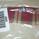 Retired Longaberger Parsley Orchard Park Plaid Liner