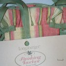 Retired Lonagberger Stripe Magazine Basket Liner