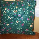 Retired Longaberger Emerald Vine Envelope Flap Pillow