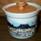 Retired Longaberger Homestead Limited Edition Small Crock With Lid