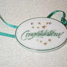 Retired Longaberger Congratulations Tie On