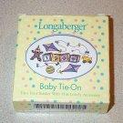 Longaberger 1999 Baby Tie On