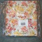 Longaberger 10 Yards Snapdragon Stripe & Floral Fabric