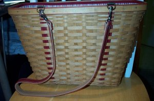 Retired Longaberger 2004 Mother's Day Weekend Tote Bag