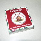 Longaberger 1999 Merry Christmas Tie On