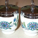 Adorable Royal Worcester Floral Flowers Egg Coddlers