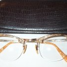 Fancy Vintage Gold Filled & Bakelite Ladies Eyeglasses