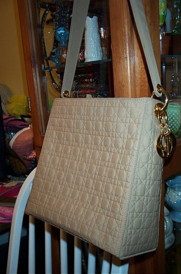 Nice Christian Dior Cannage Shoulder Bag