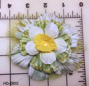 Hair DoDads flower clip HD-0011
