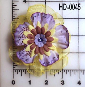 Hair Accessory, Hair clip, Hair flower HD-0045