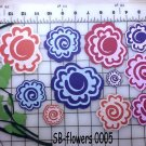Hand made flowers for scrapbooking SB-F-0005