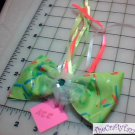 Hair Accessory, Neon Hair Flower Bow HD-0224