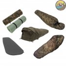 Military Sleeping System. Army Sleep System – Bivy Bag + Modular Sleeping Bag + Camping Mat