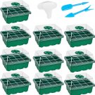 Garden starter kit - 10 Seed trays + Labels + Garden Tools