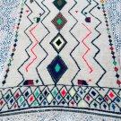 Morrocan oriental handmade RUG Genuine Azilal / Beni Ouarain Rug wool Tribal Berber carpet