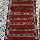 Kilim Berber Rug/ Handmade Moroccan Wool Azemmour Kilim 159 x 88 cm(5.21x2.88ft)