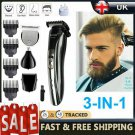 Professional Men's Hair Clippers Trimmers Cutting Machine Cordless Beard Shaver