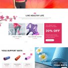 Ashi : Yoga Pilates, Fitness Shopify Theme