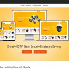 iCam   CCTV, Electronics Industry Shopify Theme