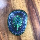 Incense holder & coaster (Blue, green & Purple)