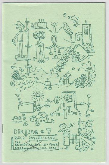 DIRTBAG #7 Dave Kiersh mini-comic 2002 Dave K comix