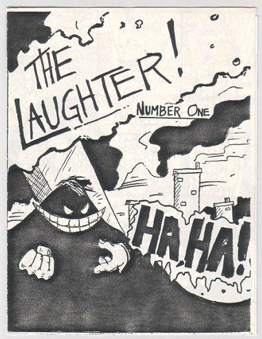 THE LAUGHTER #1 mini-comic J.D. VALENCIA 1986 comix