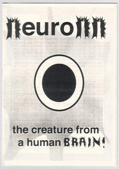 NEURONN Australian mini-comic ADAM FORD 1999