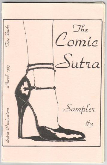 THE COMIC SUTRA SAMPLER #3 mini-comic 1995 comix