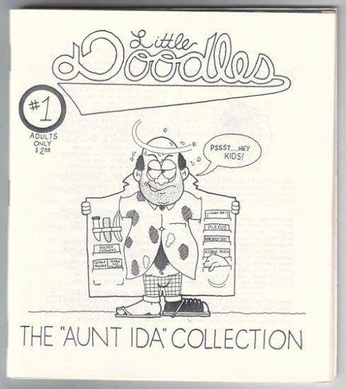 LITTLE DOODLES #1 mini-comic POL PAT 1995 comix
