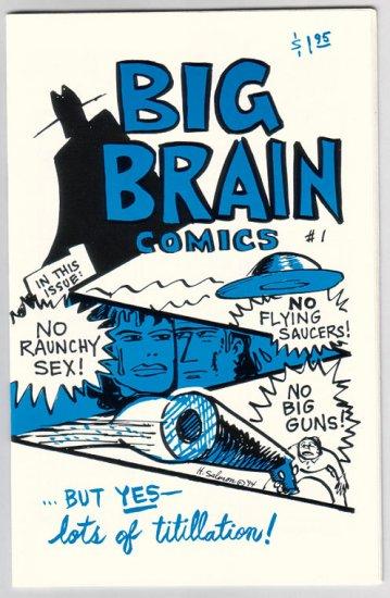 BIG BRAIN COMICS #1 mini-comic HOWARD SALMON 1994 comix