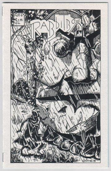 RABBITBOY mini-comic LOT of 2 BRUCE STENGL early '90s