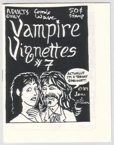 VAMPIRE VIGNETTES 7 mini-comic STEVE WILLIS Sergio Aragones 1984