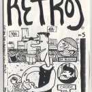 RETROS #5 mini-comic JOHN JONES underground Comix Wave 1986