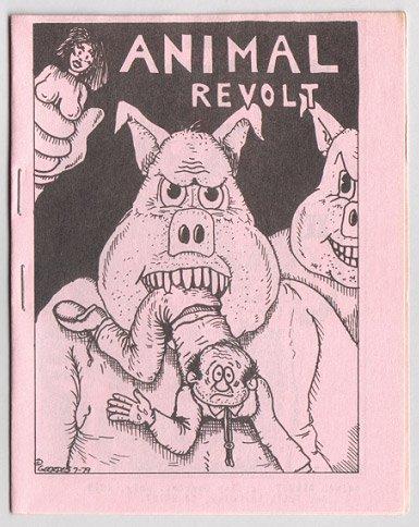 ANIMAL REVOLT mini-comic CLAY GEERDES 1979 pink
