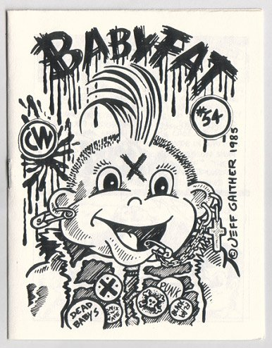 BABYFAT #54 mini-comic JEFF GAITHER Brad Foster PAR HOLMAN 1985