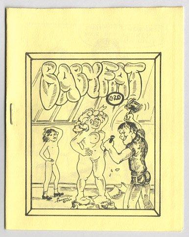 BABYFAT #20 mini-comic JOYCE FARMER Brad Foster 1981 comix