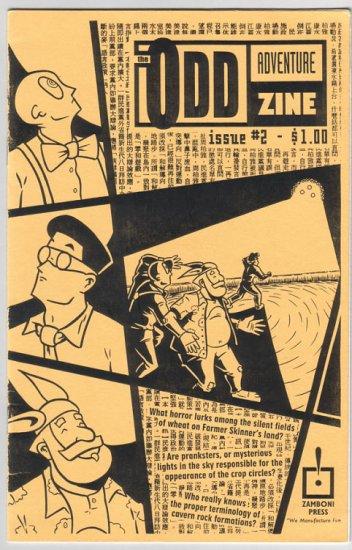 ODD ADVENTURE ZINE #2 mini-comic TY SMITH Ian Smith 1996 numbered ed.
