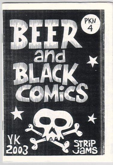 BEER AND BLACK COMICS Indonesian mini-comic JAM COMICS 2003