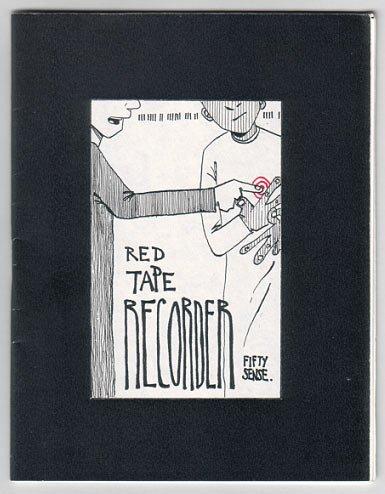 RED TAPE RECORDER #7 mini-comic T. DUKES 2001 comix