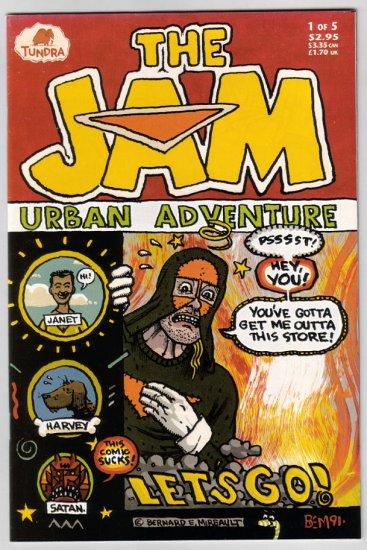 THE JAM URBAN ADVENTURE #1 Bernie Mireault 1992 Tundra