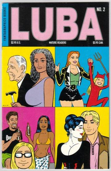 LUBA #2 Gilbert Hernandez 1998 Fantagraphics comix