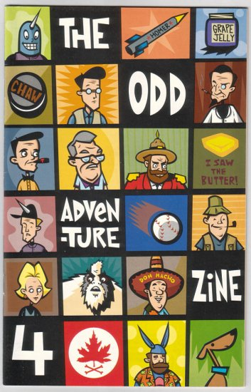 THE ODD ADVENTURE ZINE #4 Ty Smith IAN SMITH 1997 Zamboni