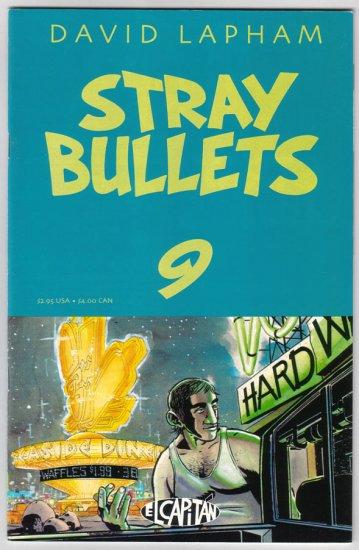 STRAY BULLETS #9 David Lapham 1996 El Capitan