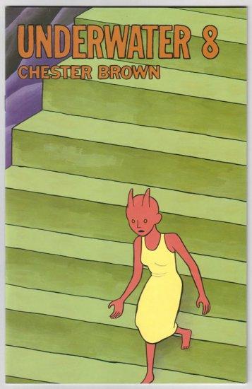UNDERWATER #8 Chester Brown 1996 D&Q