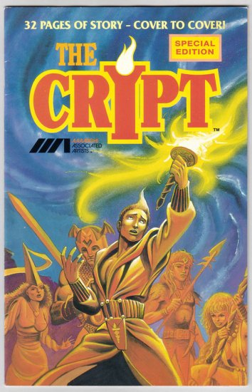 THE CRYPT #1 signed HEMPEL Kochell WHEATLEY signed 1987